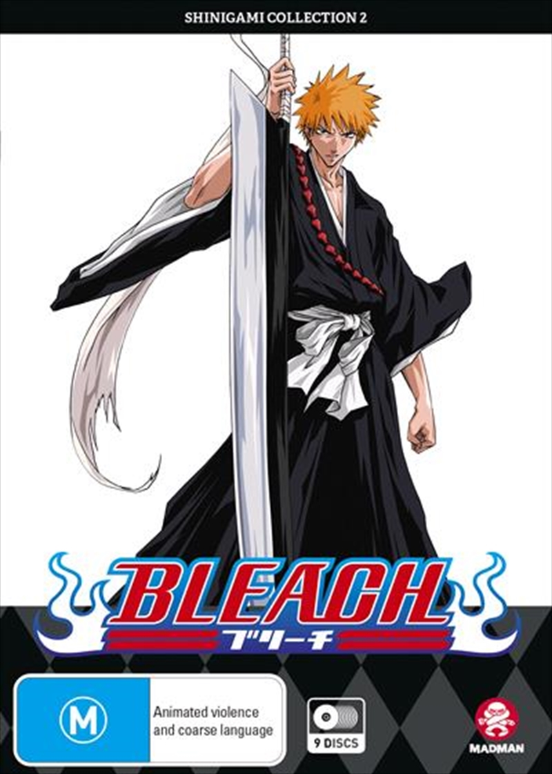 Bleach Shinigami - Collection 2 - Eps 42-79 | DVD