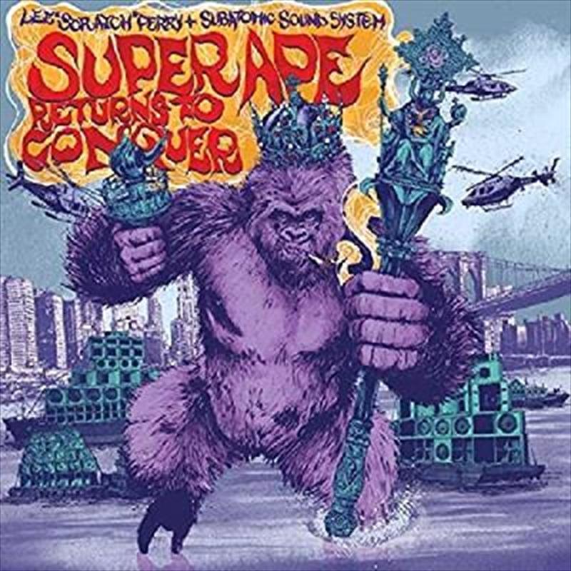 Super Ape Returns To Conquer   CD
