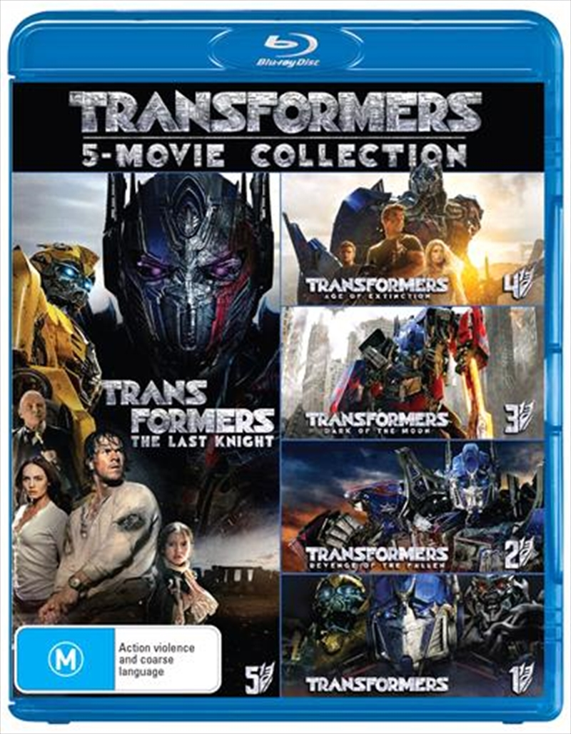 Transformers 5 Pack - Franchise Pack | Blu-ray