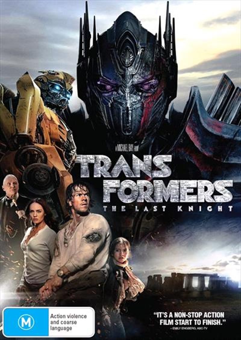 Transformers - The Last Knight | DVD