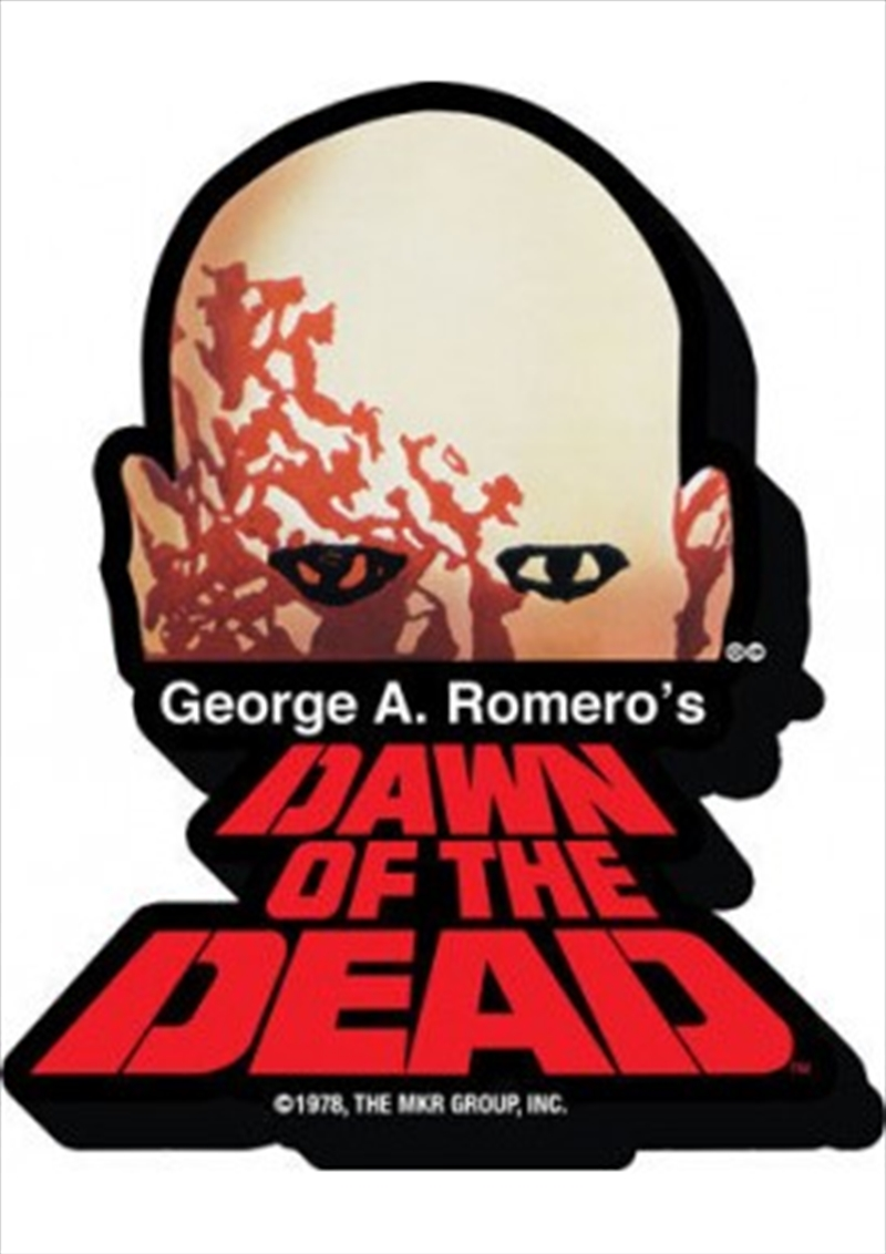 Dawn of the Dead Logo Chunky Magnet | Merchandise