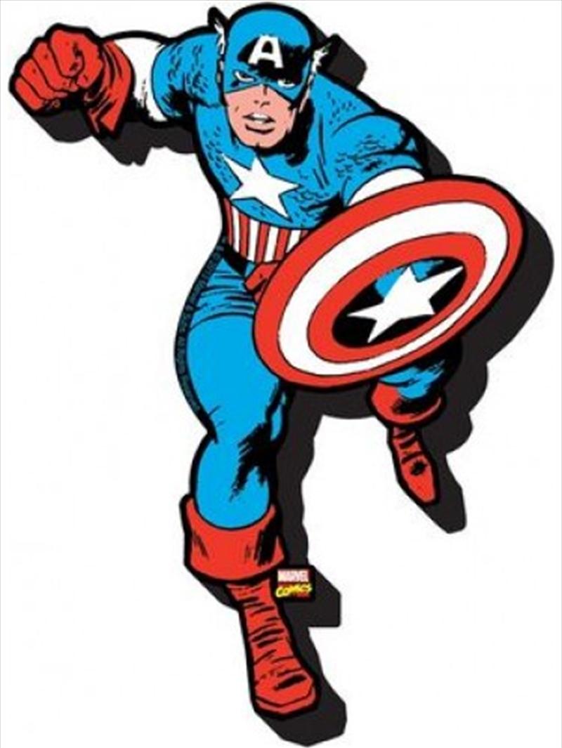 Marvel Captain America Chunky Magnet | Merchandise