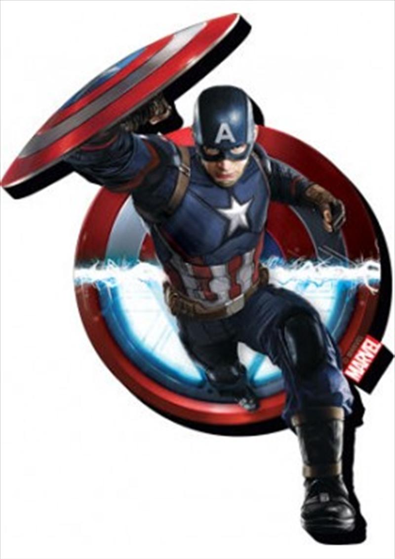 Marvel Avengers Civil War Captain America Chunky Magnet | Merchandise