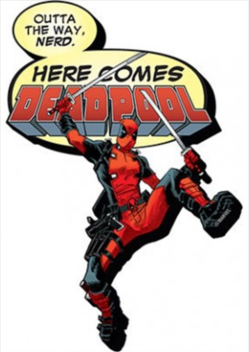 Marvel Deadpool Here Comes Chunky Magnet | Merchandise