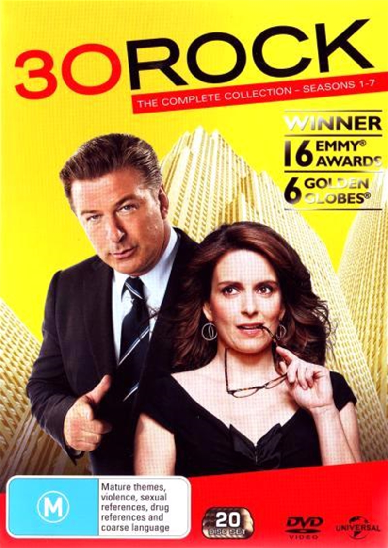 30 Rock - Season 1-7 Boxset | DVD