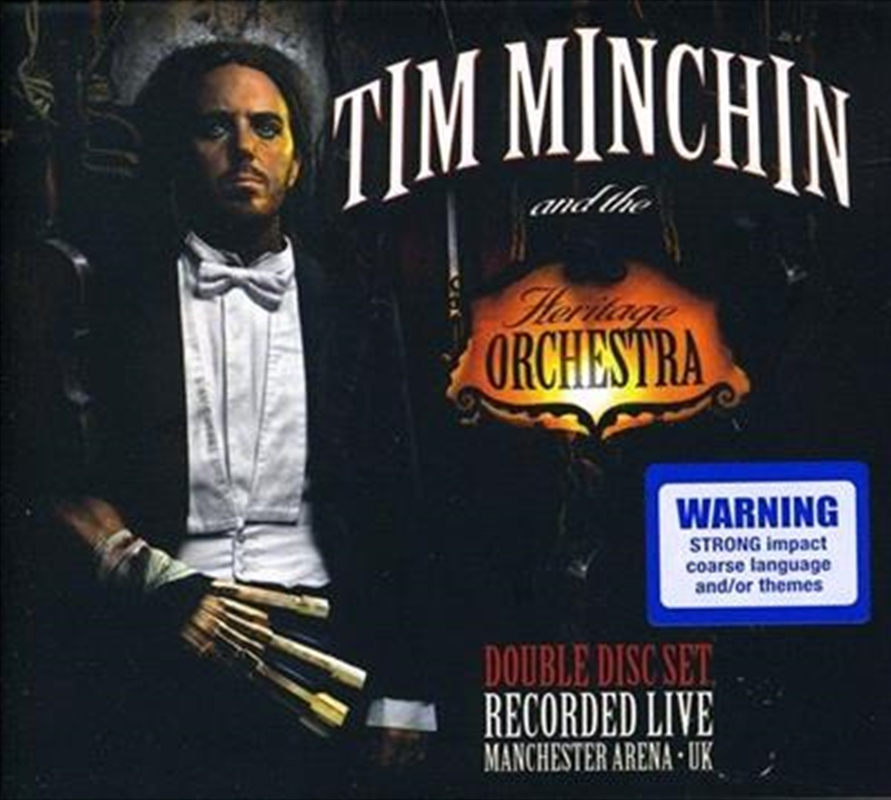 Tim minchin and the heritage orchestra pop cd sanity for Heritage orchestra
