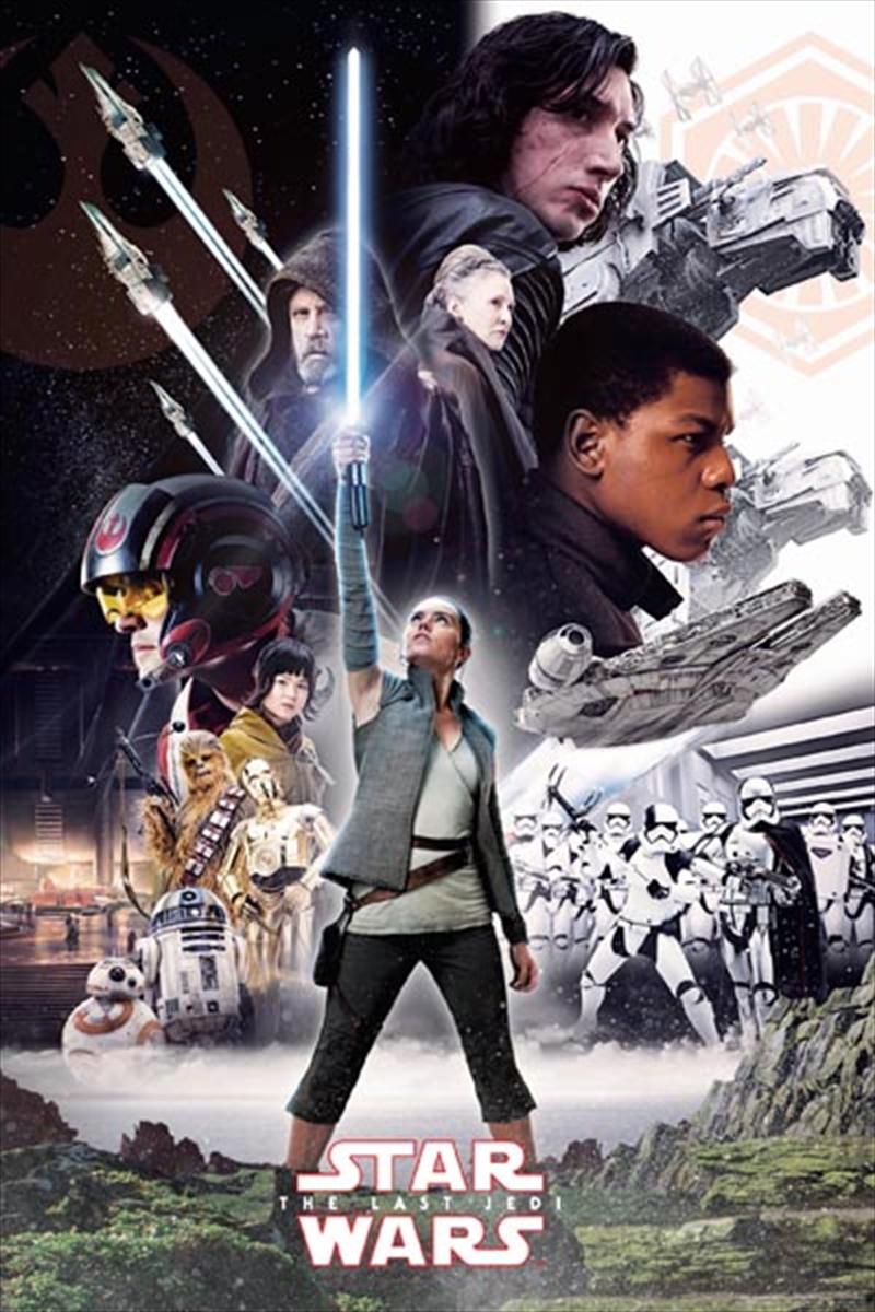 Star Wars - The Last Jedi Poster | Merchandise