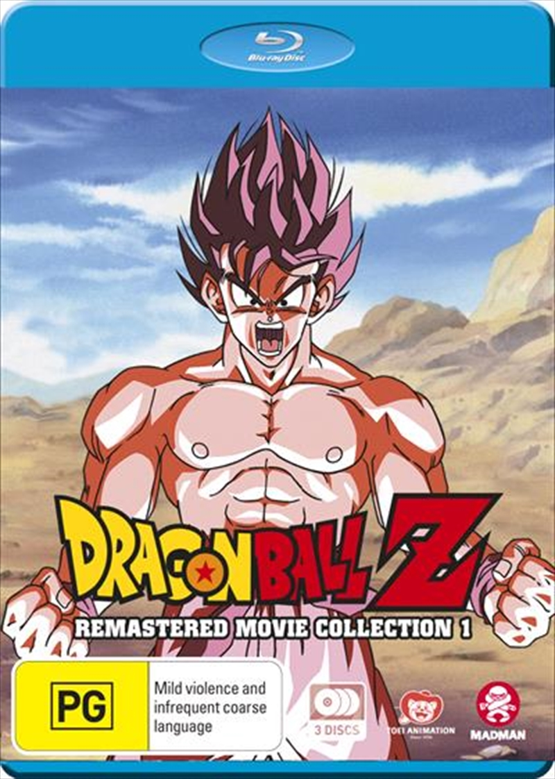 Dragon Ball Z - Collection 1 - Movie 1-6 Remastered Movies + Specials   Blu-ray