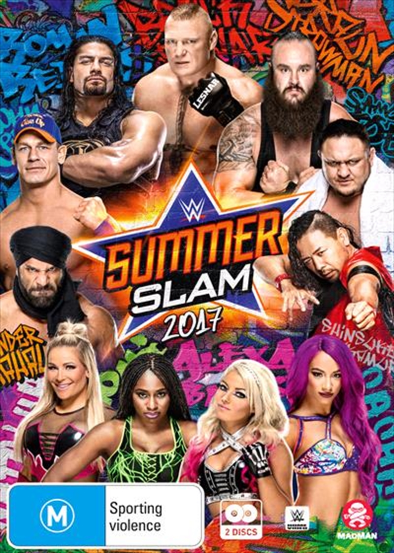 WWE - SummerSlam 2017 | DVD
