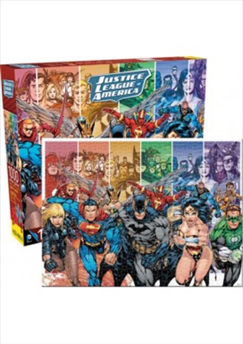 DC Comics – Justice League 1000pc Puzzle   Merchandise