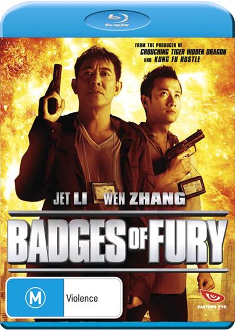 Badges Of Fury | Blu-ray