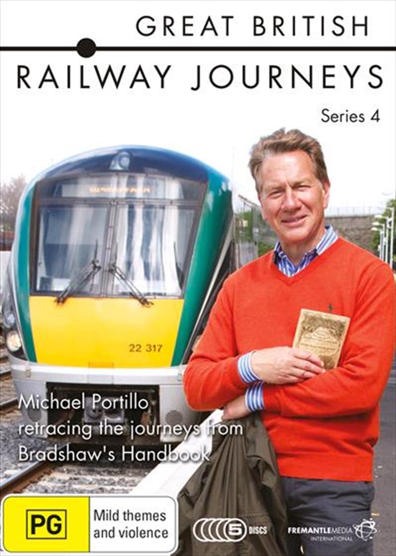 Great British Railway Journeys - Series 4 | DVD