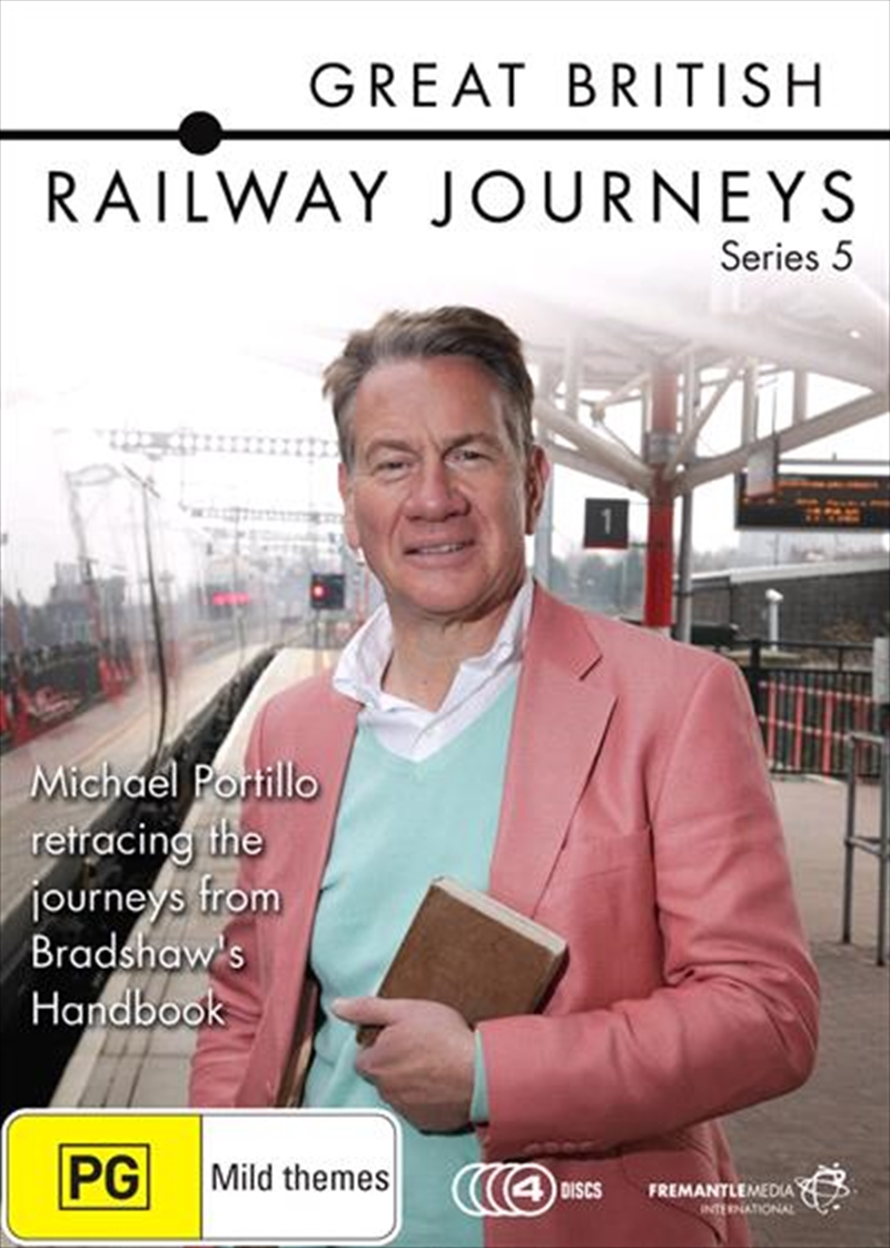 Great British Railway Journeys - Series 5 | DVD