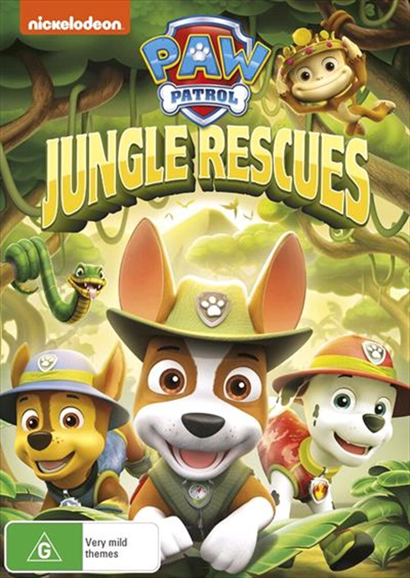 Paw Patrol - Jungle Rescues | DVD