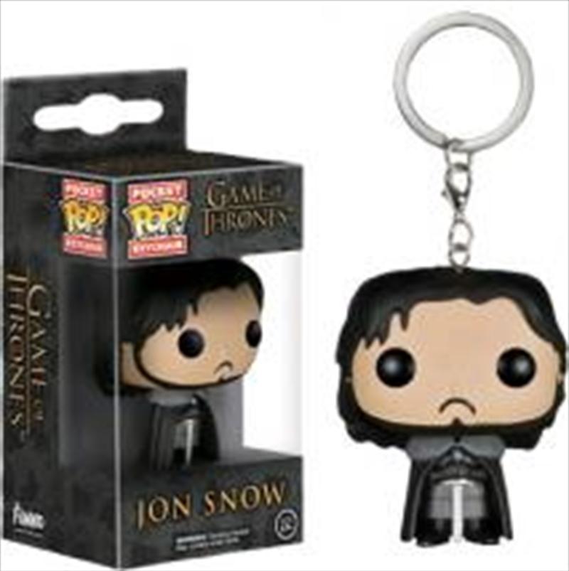 Jon Snow Pop Keychain | Accessories