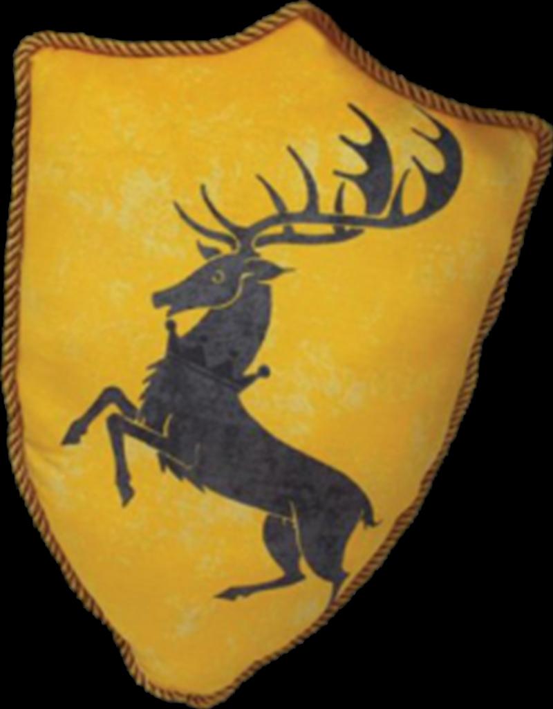 Baratheon Sigil Throw Pillow | Homewares