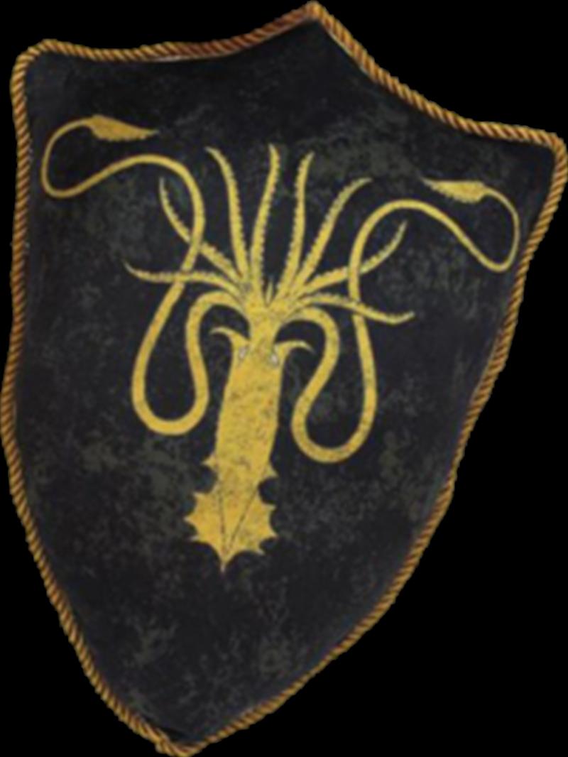Greyjoy Sigil Throw Pillow   Homewares