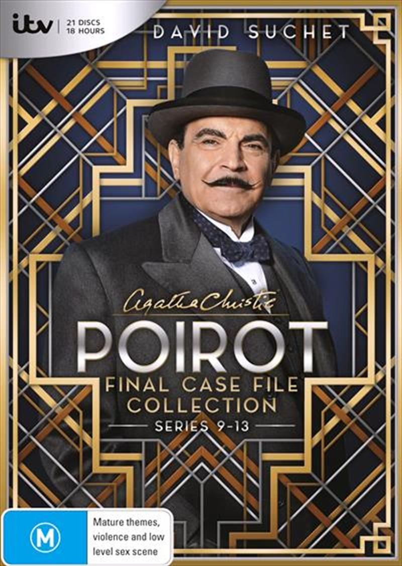 Agatha Christie: Poirot - Final Case File Collection | DVD