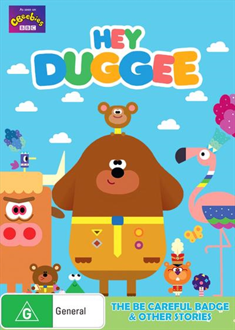 Hey Duggee - Be Careful Badge | DVD