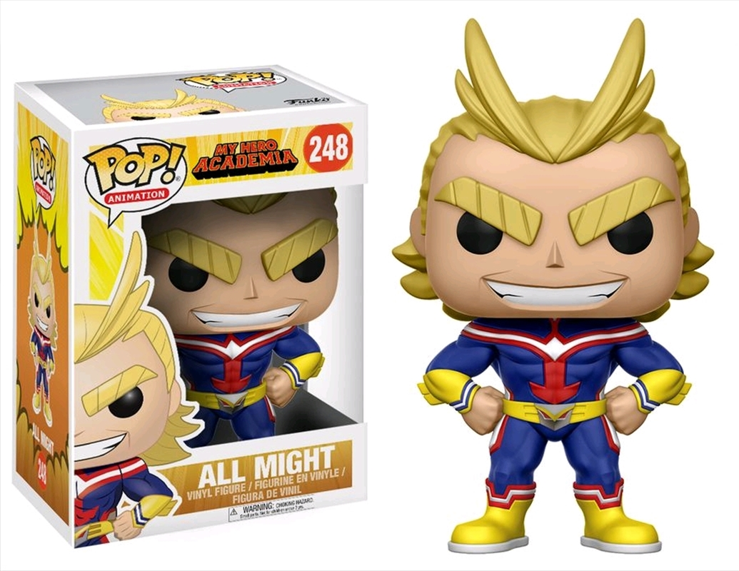 My Hero Academia - All Might | Pop Vinyl