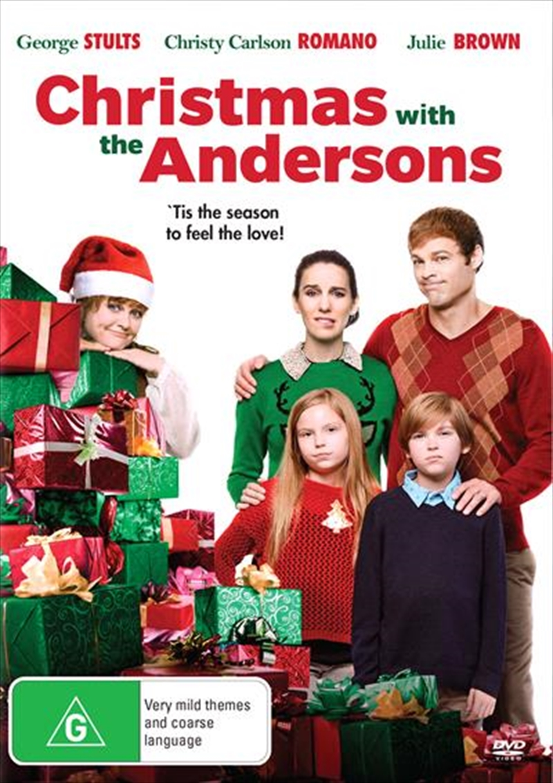 Christmas With The Andersons | DVD