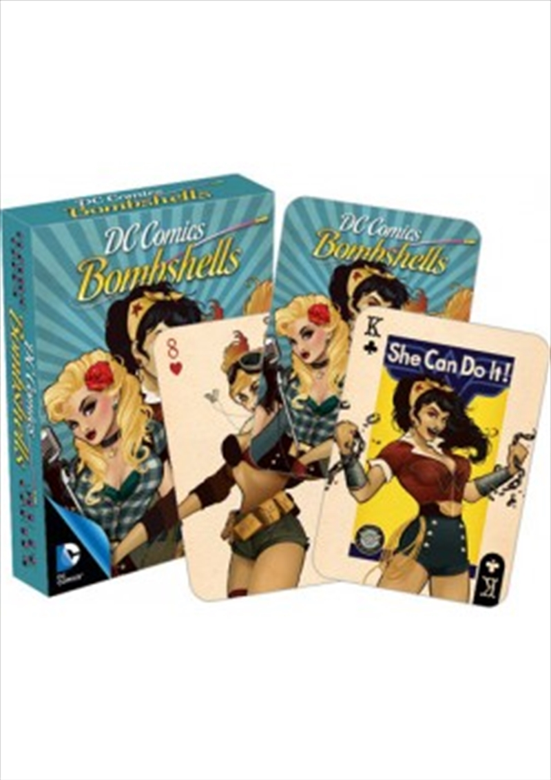 DC Comics Bombshells Playing Cards | Merchandise