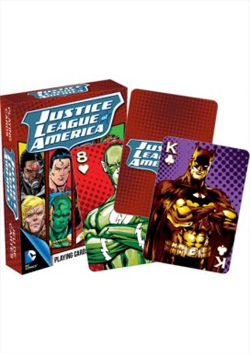 DC Comics JLA Playing Cards | Merchandise