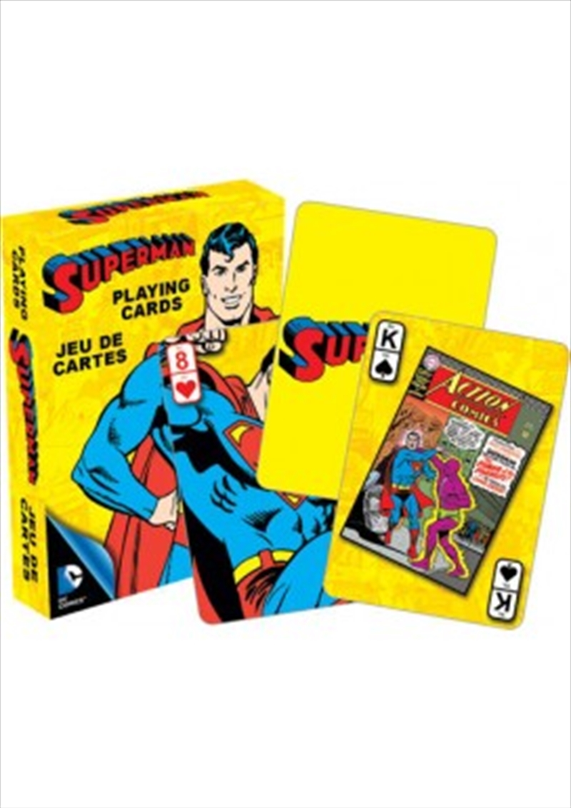 DC Comics Retro Superman Playing Cards | Merchandise