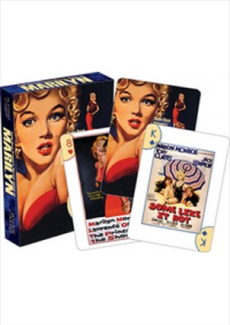 Marilyn Monroe One Sheets Playing Cards | Merchandise