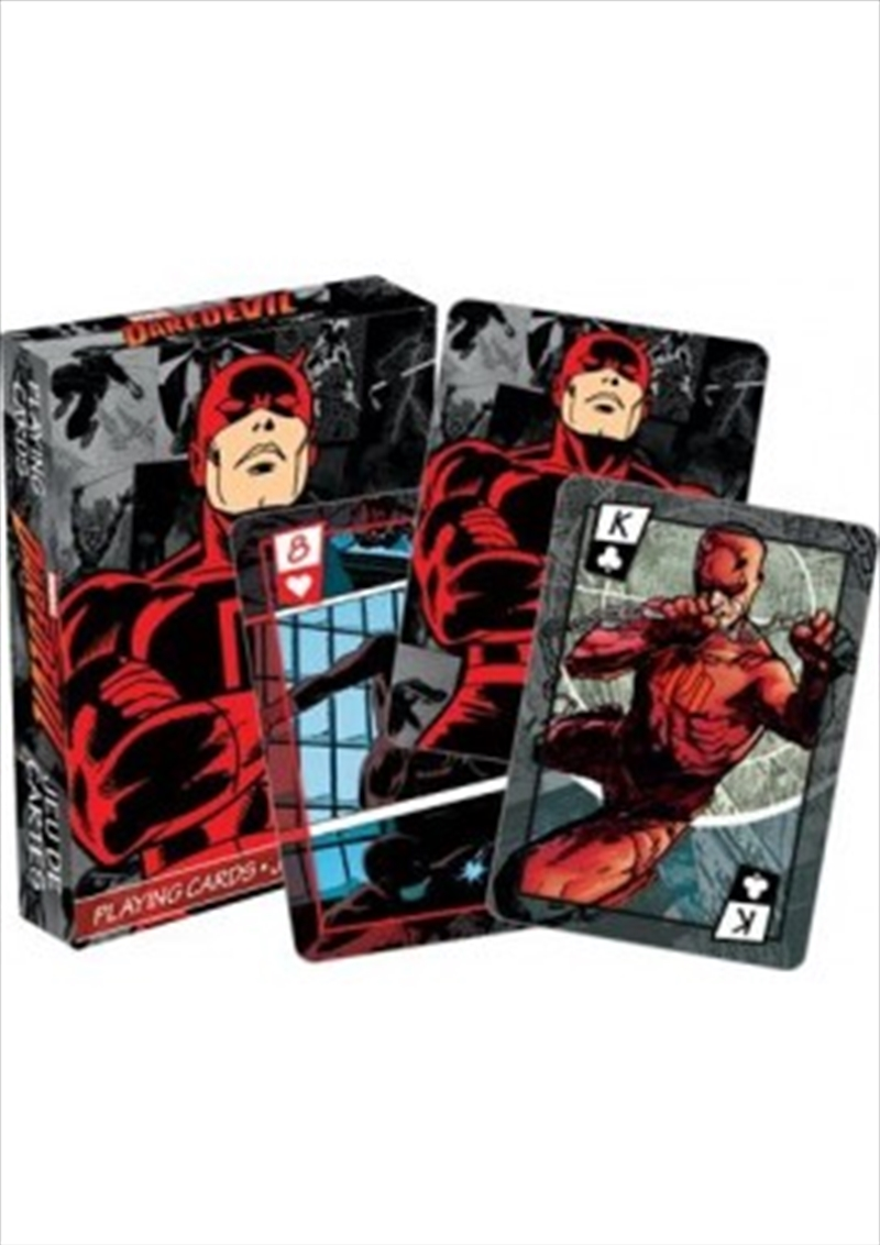 Marvel Daredevil Comics Playing Cards | Merchandise