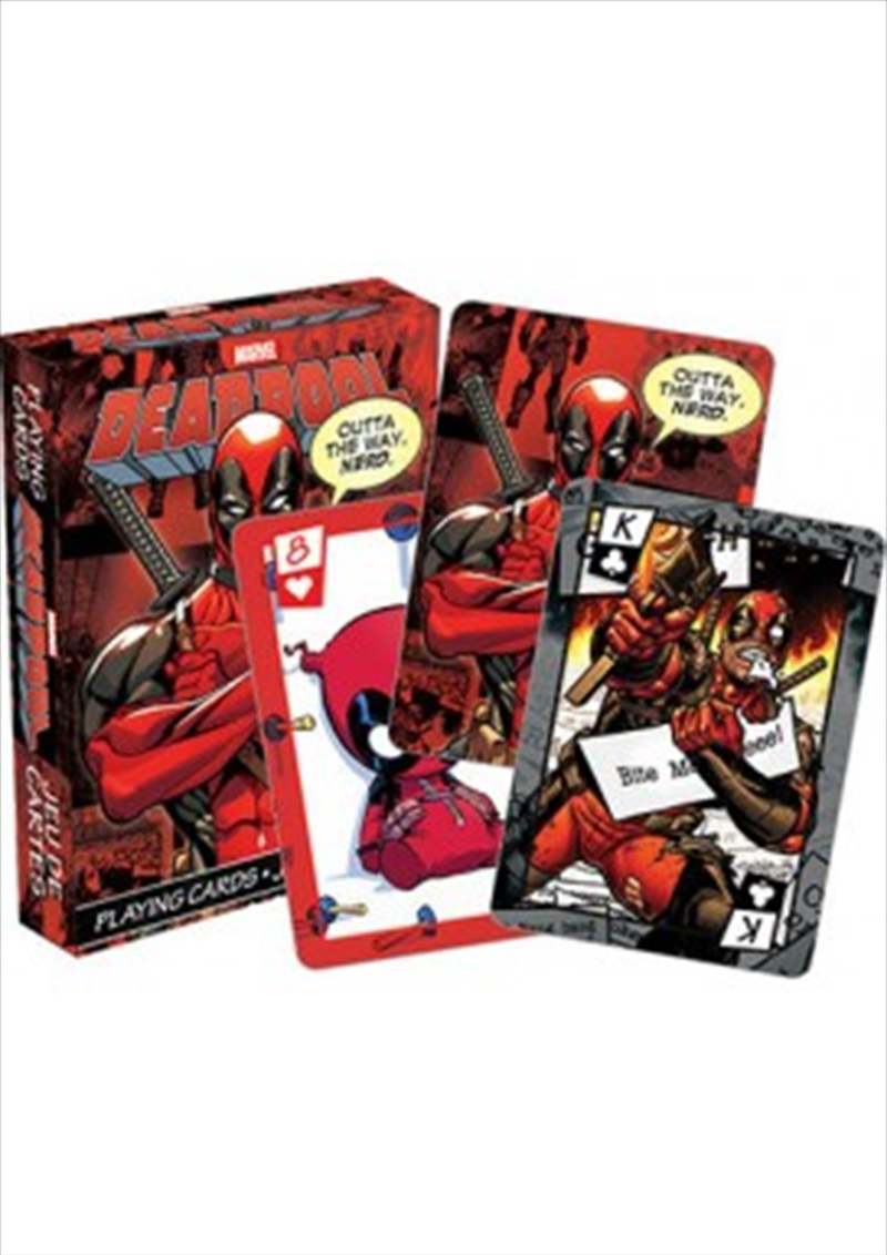 Marvel Deadpool Playing Cards | Merchandise