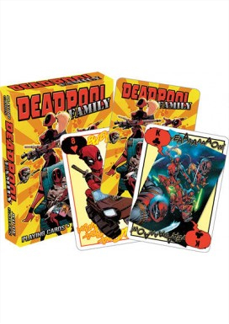 Marvel Deadpool Family Playing Cards | Merchandise