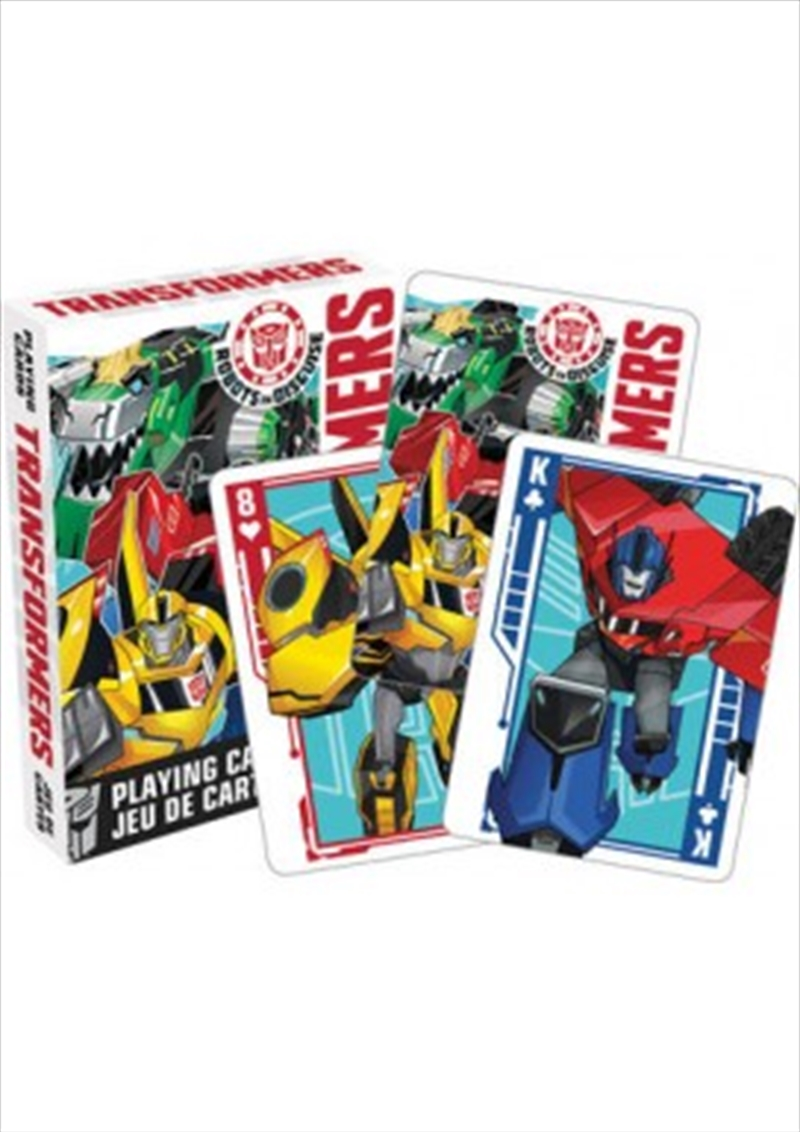 Transformers – Robots in Disguise Playing Cards | Merchandise