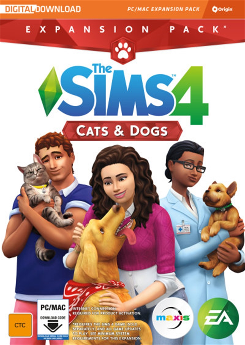 Sims 4 Cats & Dogs Add On | PC