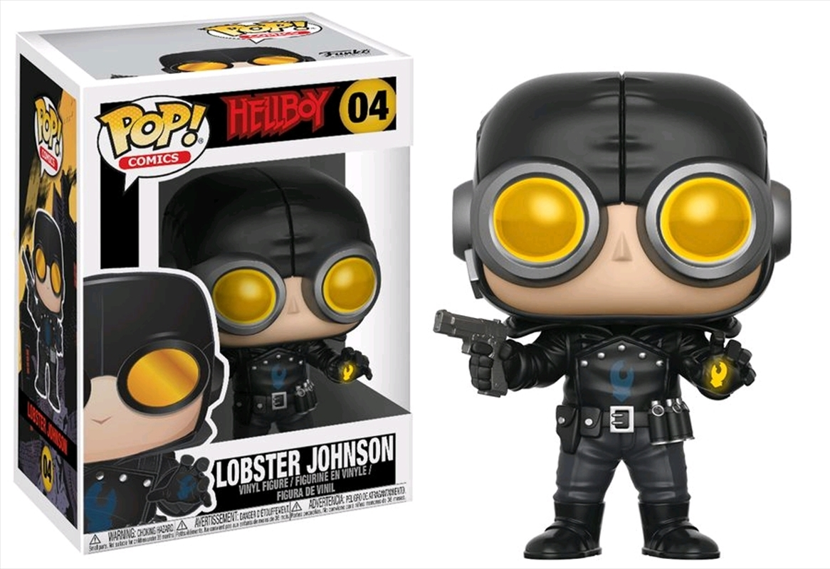 Lobster Johnson | Pop Vinyl