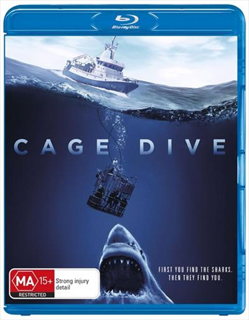 Cage Dive | Blu-ray