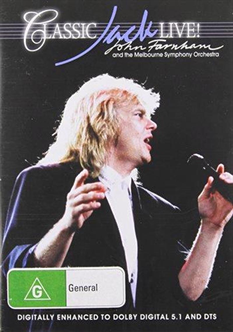 Classic Jack Live | DVD