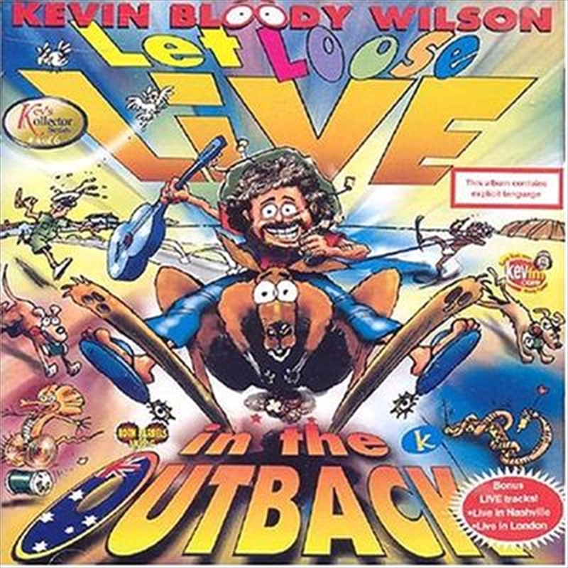 Let Loose Live In The Outback   CD