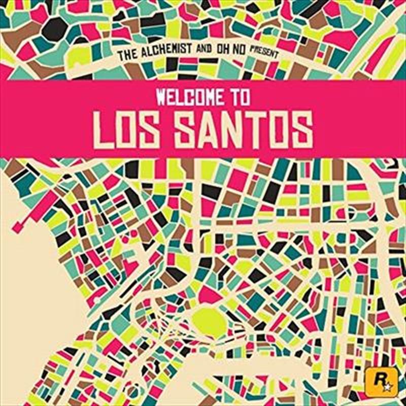 Alchemist & Oh No Present Welcome To Los Santos | CD