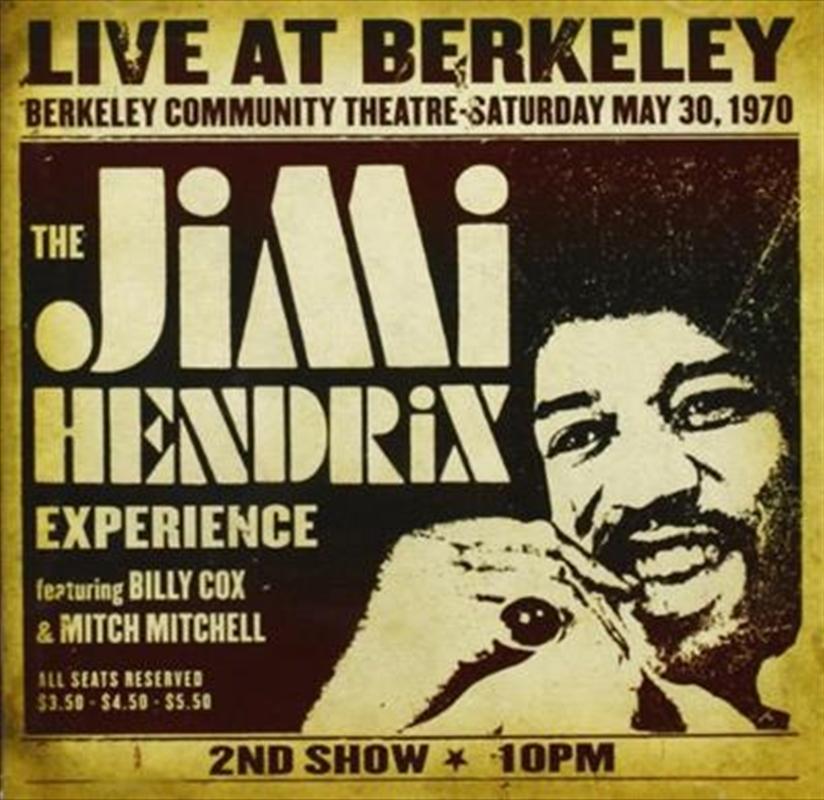 Live At Berkeley   CD