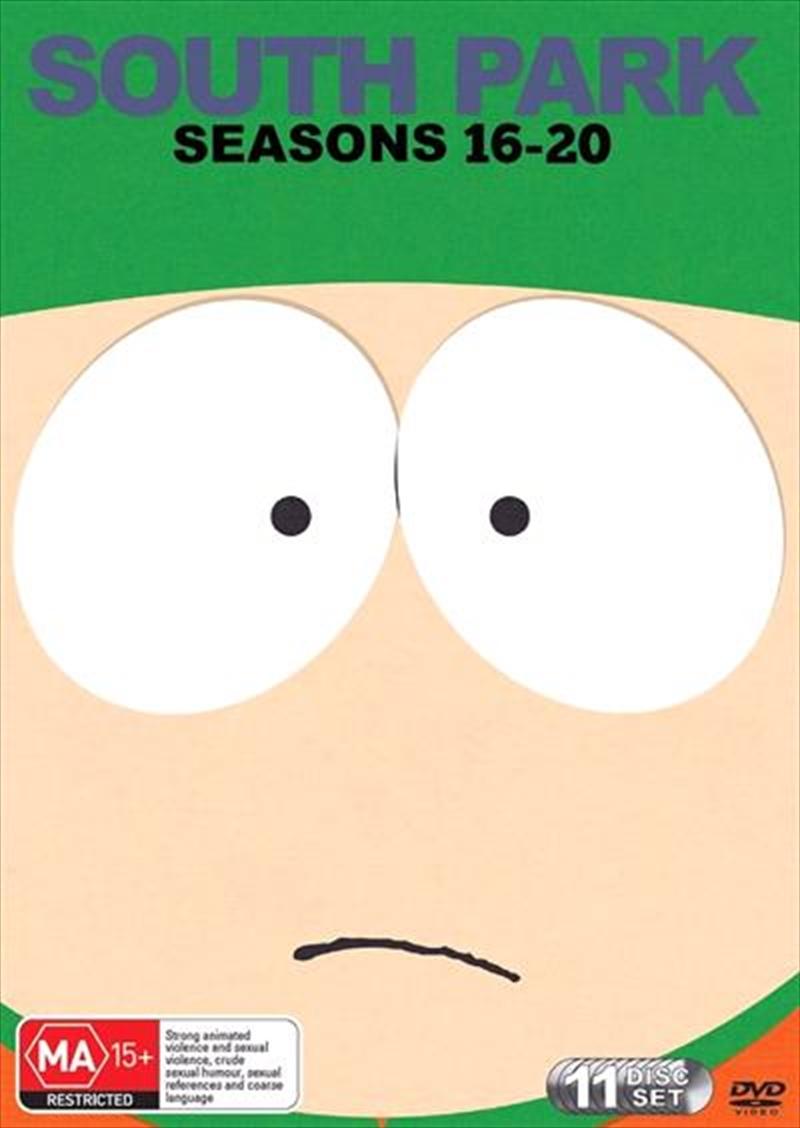 South Park - Season 16-20 | Boxset | DVD