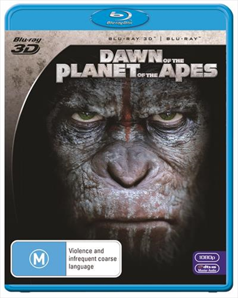 Dawn Of The Planet Of The Apes | Blu-ray 3D
