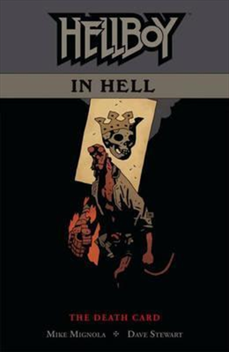 Hellboy In Hell Volume 2 The Death Card | Paperback Book