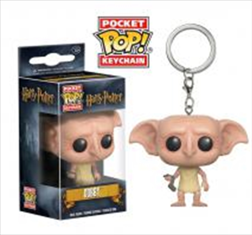Harry Potter - Dobby Pocket Pop! Keychain | Accessories