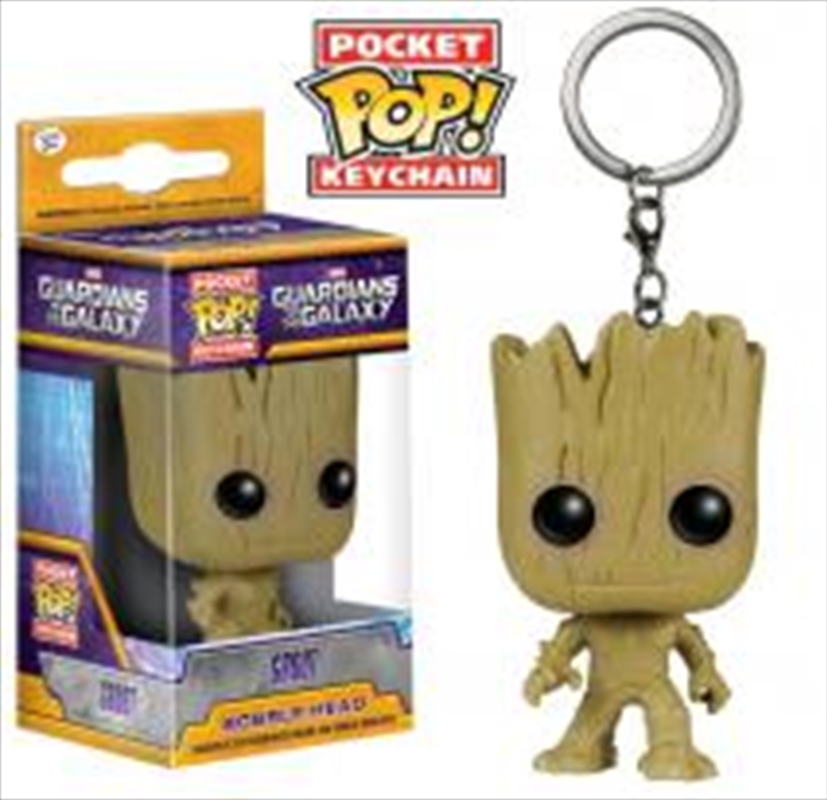 Guardians of the Galaxy - Groot Pocket Pop! Keychain | Pop Vinyl