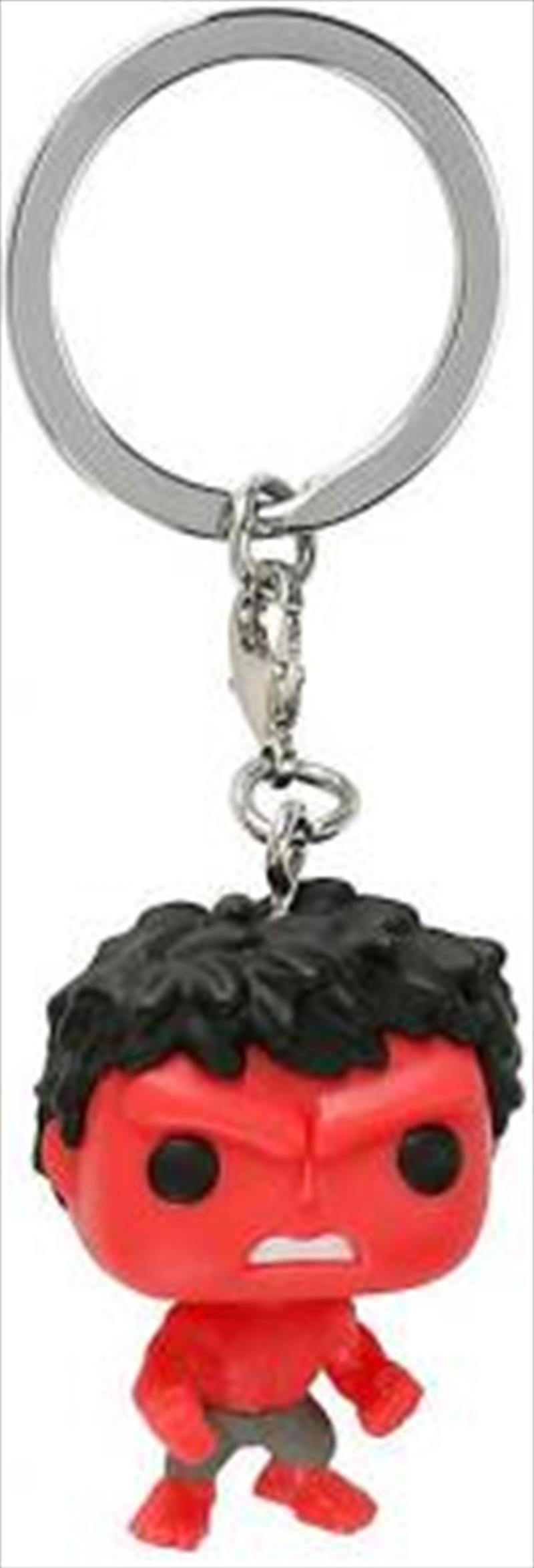 Hulk Red Pop Keychain | Accessories