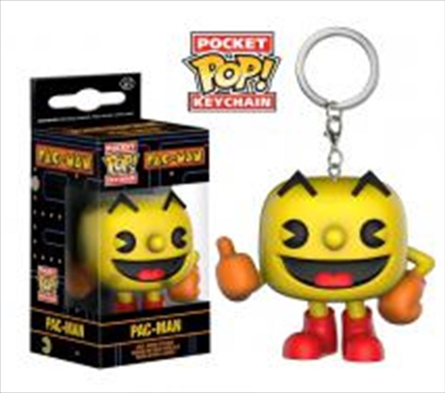Pac Man Pop Keychain   Accessories