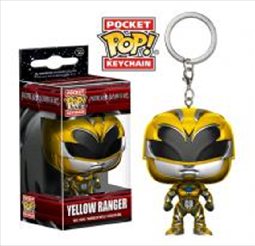 Yellow Ranger Pop Keychain | Accessories