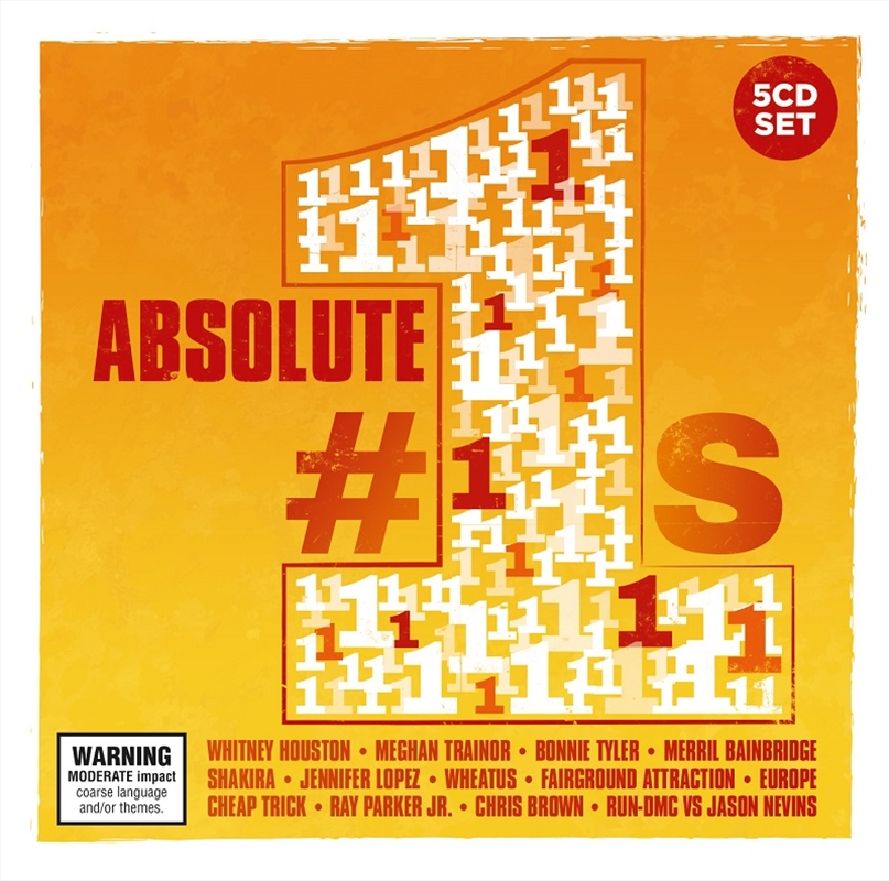 Absolute Number 1's | CD