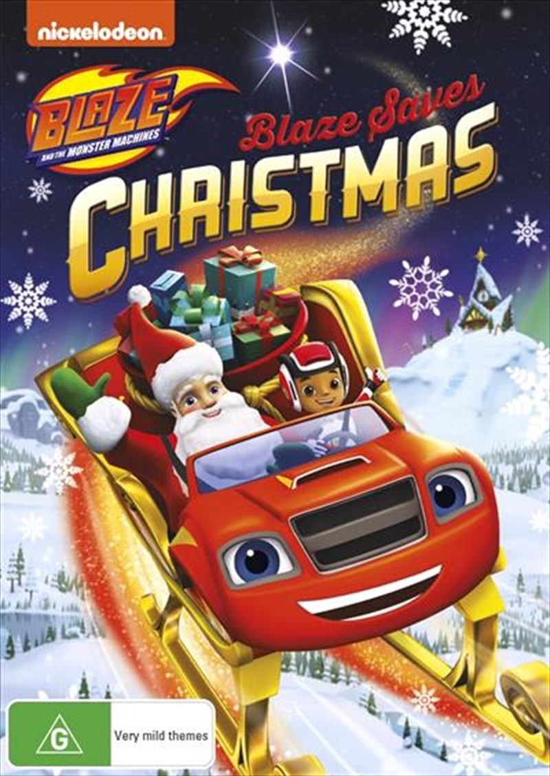 Blaze & The Monster Machines: Blaze Saves Christmas | DVD